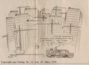 Arbeitslosigkeit  - Freitag vom 18. März 1994