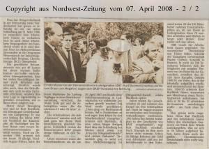 Den Job verloren, aber nicht die Würde - Nordwest-Zeitung vom 07. April 2008 - Seite 2 von 2 Seiten