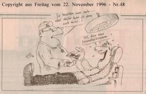 Gesundheitsreform - Freitag vom 22. November 1996 - Nr. 48