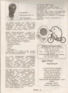Igel Post - 12-91 - Alternative Nordenhamer Liste - ANL - Seite 4 von 4 Seiten