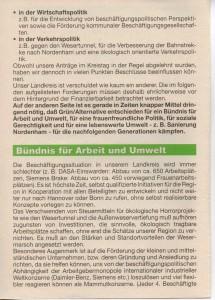 Kreistags-Wahlprogramm 1996 - Grün Alternatives Bündnis - GAB - Seite 2  von 8 Seiten