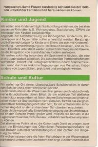 Kreistags-Wahlprogramm 1996 - Grün Alternatives Bündnis - GAB - Seite 5  von 8 Seiten