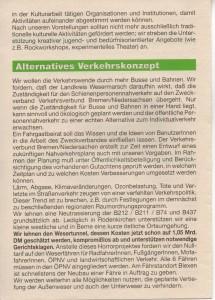 Kreistags-Wahlprogramm 1996 - Grün Alternatives Bündnis - GAB - Seite 6  von 8 Seiten