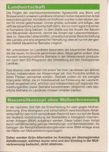 Kreistags-Wahlprogramm 1996 - Grün Alternatives Bündnis - GAB - Seite 7  von 8 Seiten