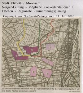 Norger-Leitung - Bauprojekt auf zwölf Hektar - Nordwest-Zeitung vom 13. Juli 2010 - Seite 2  von 4 Seiten