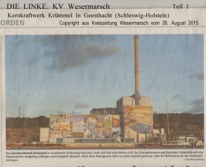 Pannenmeiler vor dem Abriss - Kreiszeitung Wesermarsch vom 26. August 2015 - Seite 1 von 2 Seiten