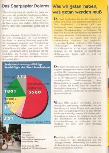 Stoppt Dolores - Rettet die Arbeitsplätze - Ohne Arbeit keine Zukunft - Eine Region kämpft - Ein Situationsbericht aus Nordenham - 1994 - Seite 4 von 6 Seiten